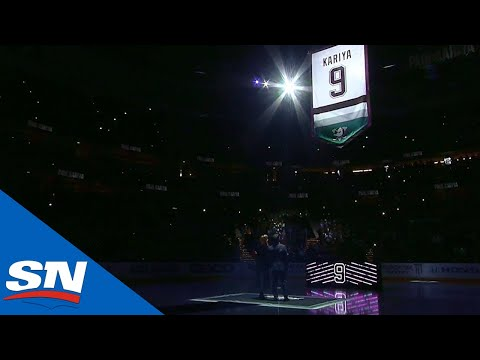 Ducks Honour Paul Kariya With Memorable Jersey Retirement