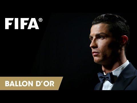 Cristiano Ronaldo wins FIFA Ballon d'Or 2014