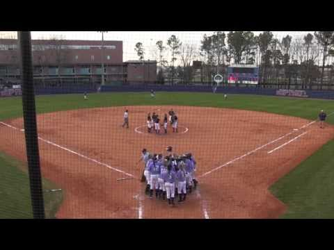 Postgame - Softball vs. Montevallo, Game 2