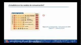 Umh1200 2012-13 Lec002 USOS Y ABUSOS DE LA ESTADÍSTICA EN LOS MEDIOS DE COMUNICACIÓN