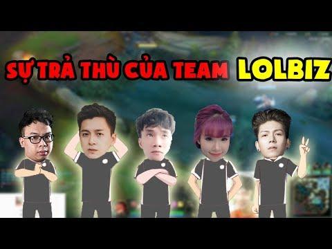 Sự trả thù của team LOLBIZ (Ngô Kiến Huy, Khởi My, Kelvin Khánh, HLV Ren và Con Cá Trê) - Thời lượng: 9 phút, 24 giây.