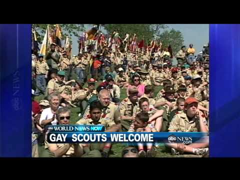 scouts - Also in the news, celebrating Memorial Day.