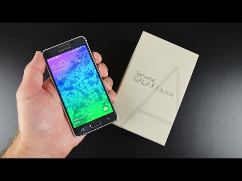 Samsung Galaxy Alpha: Unboxing & Review