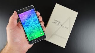 Samsung Galaxy Alpha: Unboxing&Review