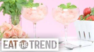 How to Make A Frozen Rosé Slushie   Eat the Trend by POPSUGAR Food