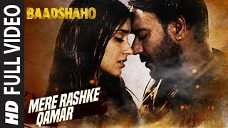Nonton Mere Rashke Qamar Full Song   Baadshaho   Ajay Devgn  Ileana   Nusrat   Rahat Fateh Ali Khan Tanisk Film Subtitle Indonesia Streaming Movie Download