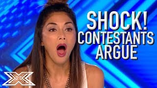 Video ANGRY and UPSET Contestants ARGUE With Each Other On The X Factor UK | X Factor Global MP3, 3GP, MP4, WEBM, AVI, FLV Maret 2019