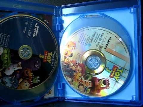 Got Toy Story 3 Blu-Ray And DVD!