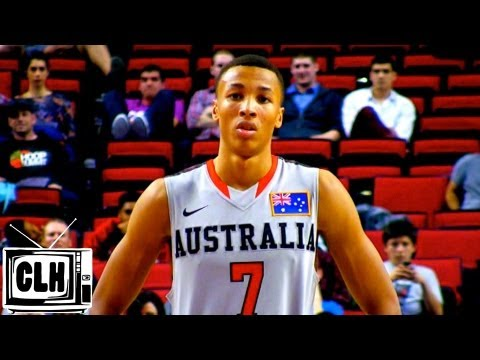 Dante Exum has pro potential – 2013 Hoop Summit Highlights – 6'6 Australian Guard