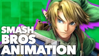 How to Animate a Smash Bros Attack // LINK - New Frame Plus