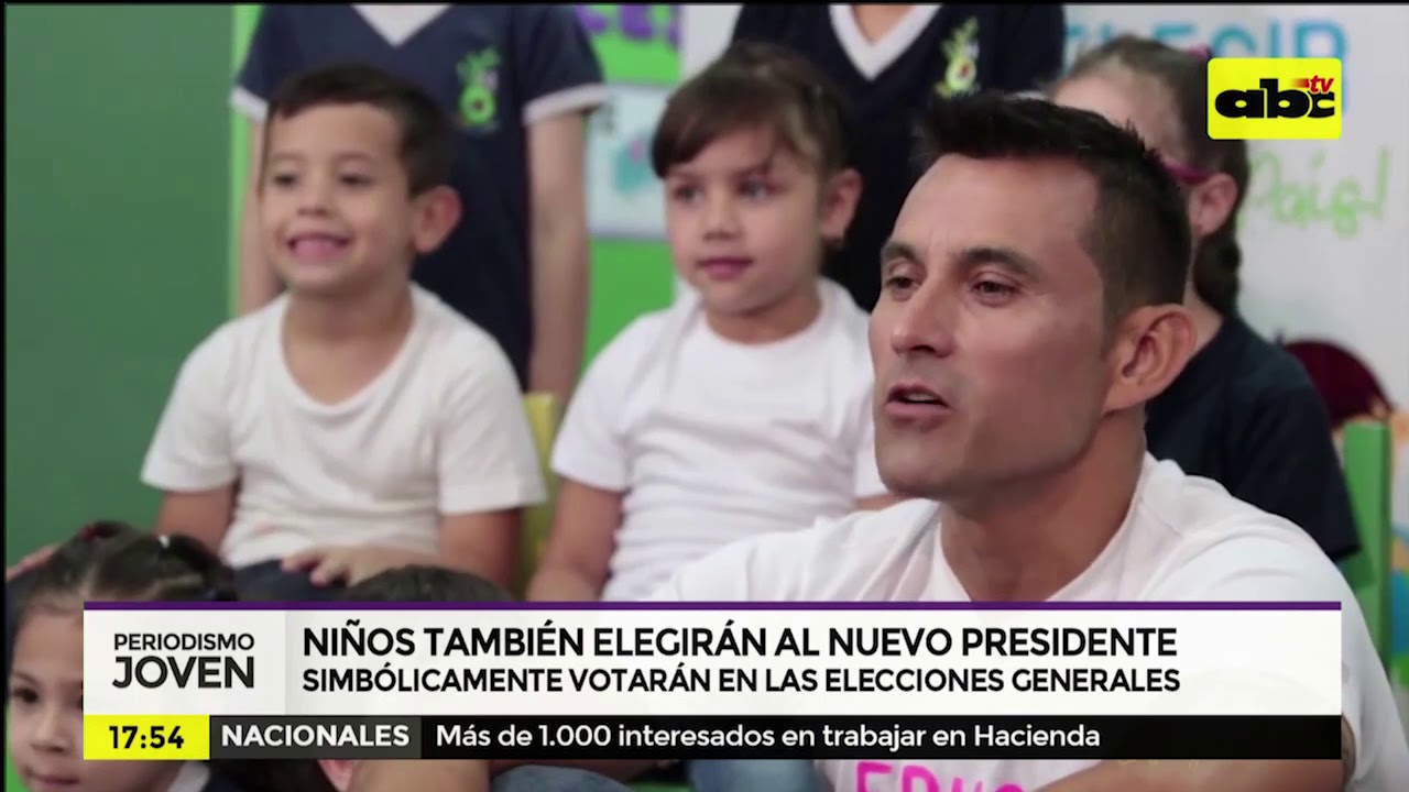 Niños también elegirán al nuevo presidente