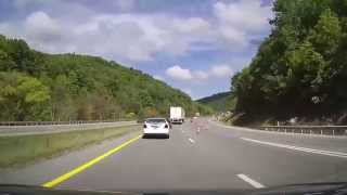 Princeton (WV) United States  city photos gallery : Driving from Wytheville, Virginia to Princeton, West Virginia through Appalachian Mountains on I77