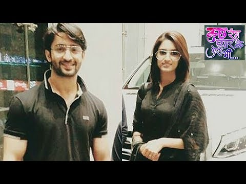 Shaheer Sheikh Buys A New Car With Erica Fernandes