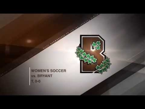 Highlights: Women's Soccer Plays Bryant to 0-0 Draw