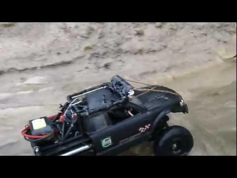 Losi Trail Trekker 4x4 1/24 Scale Beach Run Requiem