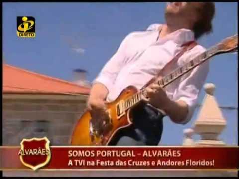 Diogo Rafael no somos portugal da tvi em alvarães com o tema vou me perder contigo