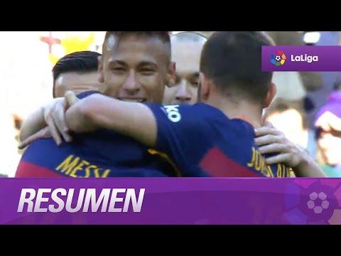 Resumen de FC Barcelona (6-0) Getafe CF видео
