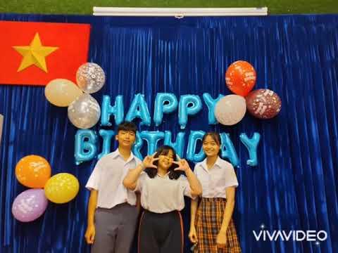 Happy Birthday các bạn học sinh có sinh nhật trong tháng 9