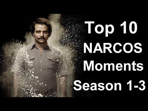 Top 10 Narcos Moments (Season 1 - 3)
