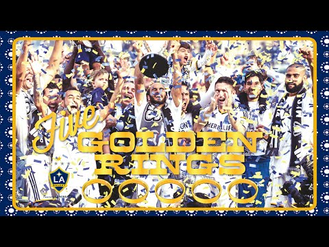 Video: Five Golden Rings: Happy Holidays from the LA Galaxy