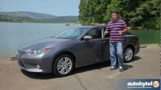 2013 Lexus ES 350 Luxury Car Video Review