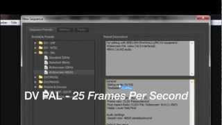 In this video, I will teach you how to create a stop-motion video in Adobe Premiere Pro CS6, what are the basic sequence settings and which framerate should ...