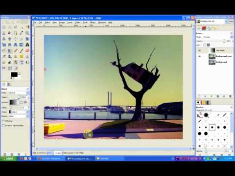 Gimp Tutorial: Lomo Effect 1