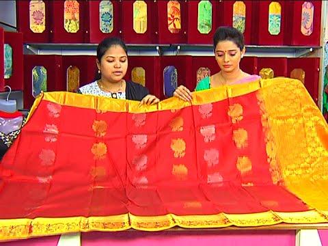 Latest Collection of Designer Border Avishkar Pattu Sarees | Sogasu Chuda Tarama 29 June 2015 02 24 PM