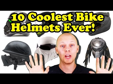 Top 10 Best Motorbike Helmets!