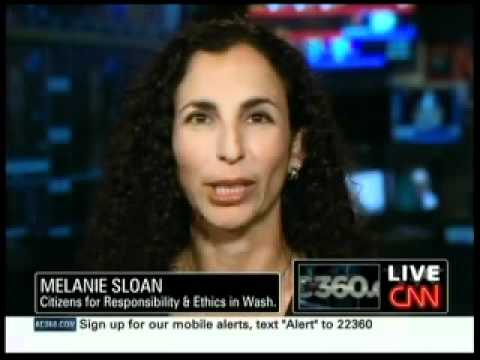 Melanie Sloan Discusses CBC Scholarship Scandal Allegations with AC 360