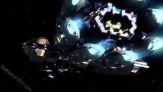 Battlestar Galactica The Battle at Helios Delta 6