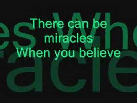Mariah Carey & Whitney Houston - When you believe