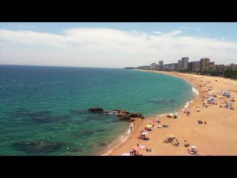 El mar y la playa (Platja d'Aro)