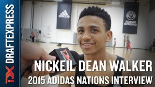 Nickeil Dean Walker 2015 Adidas Nations Interview