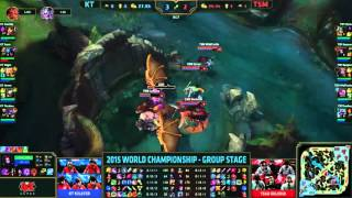 CKTG 2015: Highlight KT Rolster vs Team Solomid