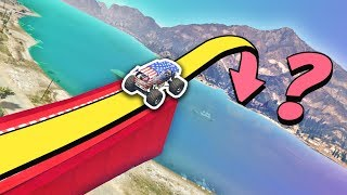 Video GTA 5 | Can you JUMP OVER the ALAMO SEA? MP3, 3GP, MP4, WEBM, AVI, FLV September 2019