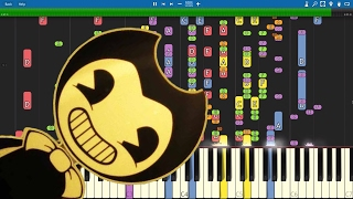 Video IMPOSSIBLE REMIX - Bendy And The Ink Machine Song - Build Our Machine - Piano Cover - DA Games MP3, 3GP, MP4, WEBM, AVI, FLV Mei 2018