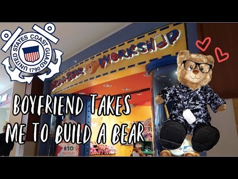 Boyfriend took me to Build A Bear