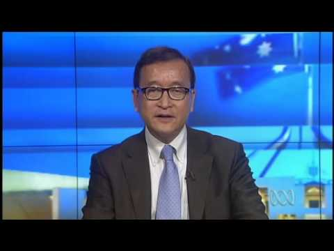 Cambodian - Sam Rainsy is the exiled leader of the main opposition party in Cambodia, he says he is hopeful of returning to Cambodia to take part in a free and fair elec...