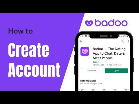 Login page com badoo How to