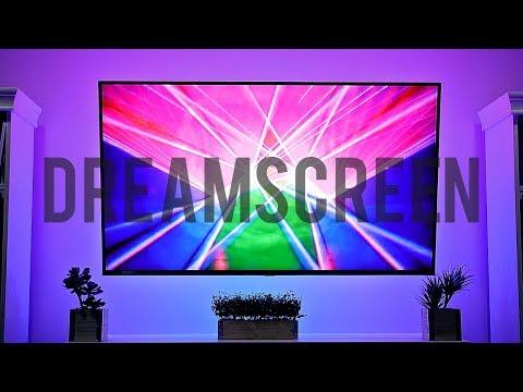 DREAMSCREEN REVIEW || Easy RGB TV Backlight