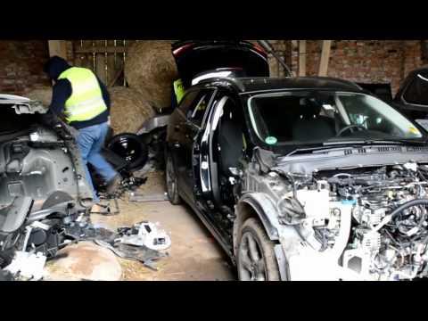 Wideo1: Leszczyńscy policjanci zlikwidowali samochodową dziuplę