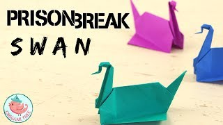 Learn how to make the real Prison Break Origami Swan! The tutorial is easy to follow and has step-by-step instructions on how to make the origami bird (or crane, some say it's a duck). You see Michael Scofield making these origami swans for Sara Tancredi throughout the series. He uses the origami swans (along with other origami projects) to communicate with her. I was so excited when I heard that Prison Break was coming out with a fifth season, I decided to create an origami swan tutorial for Prison Break's fifth season finale. Have fun making Michael Scofield's origami swan!SELECT MATERIALS / ADS:Origami paper: http://amzn.to/2rMCWuGPrison Break Season 5 on Amazon Video: http://amzn.to/2rMRmuz Prison Break Complete Season 1-5 (Blue-Ray): http://amzn.to/2rMCQmV  Another origami swan tutorial (easier than Prison Break origami swan): https://youtu.be/SQg_qzc4n9c?list=PLUistU9g4l7Tgewp4iUpjPxd7xX_BJfHg------ABOUT: Hello my crafty friends! I'm Jenny, from NYC, and I LOVE to craft. I've created hundreds of paper craft and origami tutorials, do-it-yourself (DIY) crafting tutorials, and general craft tutorials, so be sure to subscribe and check back frequently. :-)INSTAGRAM: https://Instagram.com/OrigamiTree/FACEBOOK: https://www.Facebook.com/OrigamiTreeSNAPCHAT: https://www.snapchat.com/add/OrigamiTreeTWITTER: https://Twitter.com/OrigamiTreePINTEREST: http://www.Pinterest.com/OrigamiTreeWEBSITE: http://www.OrigamiTree.comShare your crafts in the Fan Gallery (bit.ly/OTFanGallery), or on social media with #OrigamiTree. You may also visit OrigamiTree.com, for free craft tutorials, demos, printable origami paper, and more!Business Inquiries: JennyOrigamiTree@gmail.com