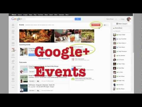 google   invite - Google Plus Events are super cool. This quick video shows you how to use them to set up a Hangout Invitation. Me on G+ http://goo.gl/9bAxY Makes it a lot eas...