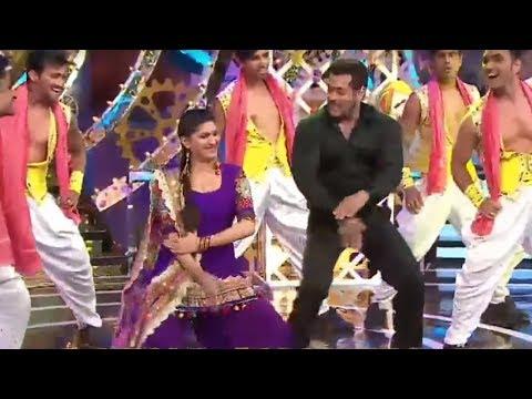 Salman के साथ जमकर नाची हरयाणवी Dancer Sapna Chaudhary ll Bigg Boss -Season 11