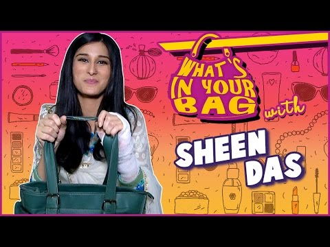 SHEEN DAS aka Pooja | WHAT'S IN YOUR BAG | PIYA AL