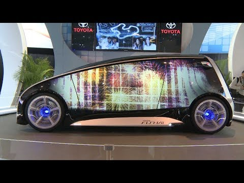 TOYOTA CONCEPT CAR - The Toyota Fun-Vii concept vehicle made a debut in Canada for the first time at the Canadian International Auto Show 2013. Designed to attract a younger gene...
