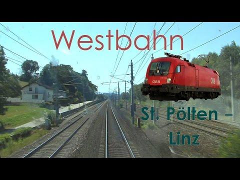 Führerstandsmitfahrt Westbahn St. Pölten - Linz [HD] Railjet - Cab Ride ÖBB 1116