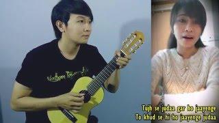 (Aashiqui 2) Tum Hi Ho - Dhea Puse Shakwa & Nathan Fingerstyle (cover) Video