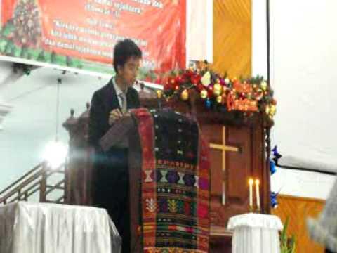 Sambutan KETUPAT NATAL IMKB 2011